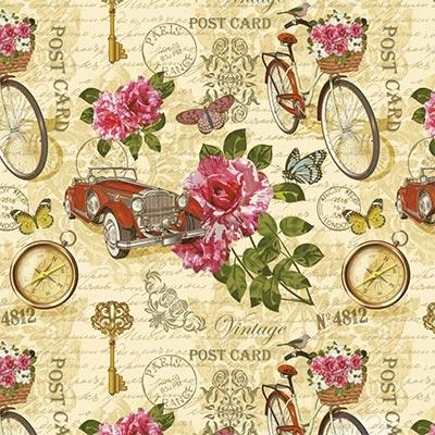 Ukrasni papir - T Romance