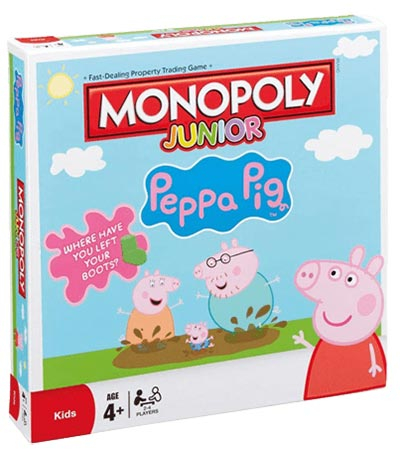 Monopol junior - Peppa pig