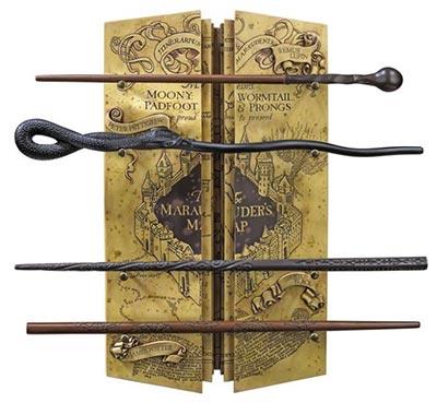 Set čarobnih štapića i mapa - Harry Potter