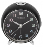 Stoni sat - Alarm Sweep/Snooze, Light Black