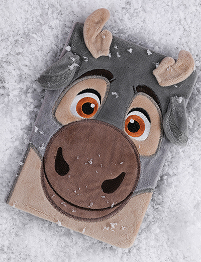 Agenda A5 Furry Frozen - Baby Sven