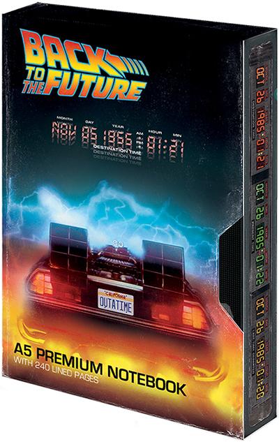 Agenda A5 Premium Back to the Future - Great Scott VHS