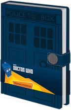 Agenda A5 Premium Doctor Who - Tardis