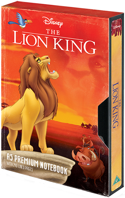 Agenda A5 PremiumThe Lion King - Circle of Life VHS