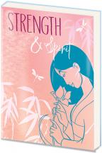 Agenda A5 PVC Mulan - Strength & Spirit