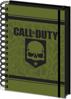Agenda A5 Wiro Call of Duty - Skull