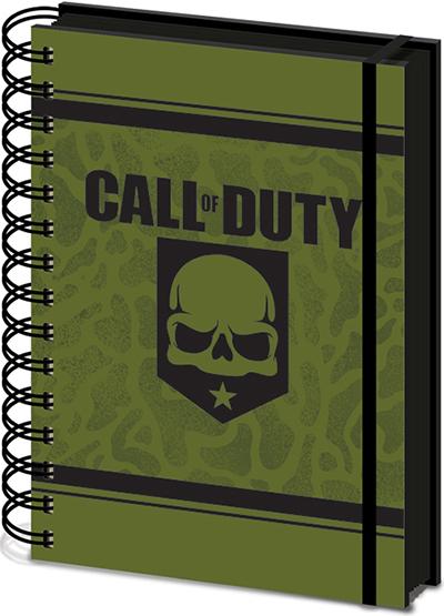 Agenda A5 Wiro Call of Duty - Skull