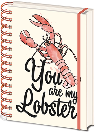 Agenda A5 Wiro Friends - You are my Lobster