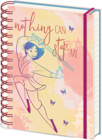 Agenda A5 Wiro Mulan - Nothing Can Stop Me