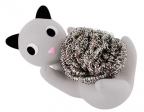 Držač za sunđer - Cat, Gray