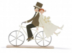 Figura - Bridal pair On Bike