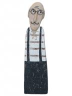 Figura - Gentleman with suspenders