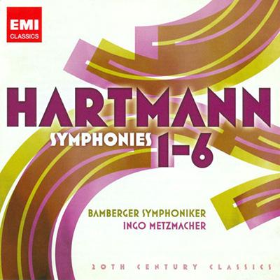 HARTMANN: SYMPHONIES 1-6 (20TH CENTURY CLASSICS) CD