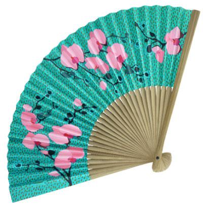 Lepeza - Fan, Orchide Blue