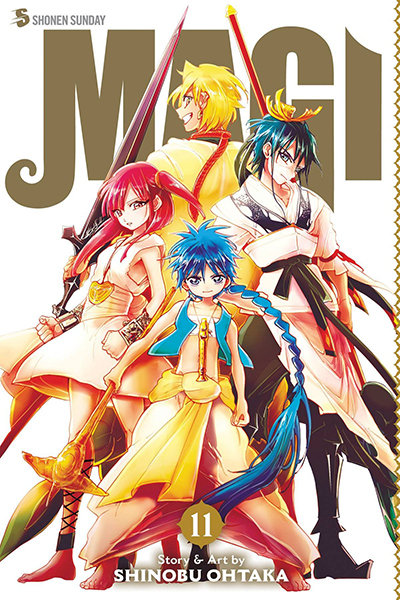 Magi 11: The Labyrinth Of Magic
