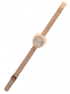 rucni sat - montre chat pink gold
