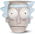 Šolja 3D Rick and Morty - Rick Head