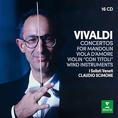 VIVALDI: CONCERTOS FOR MANDOLIN, VIOLA D'AMORE CD