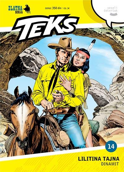 Zlatna serija 14 - Tex: Lilitina tajna; Dinamit (korica A)