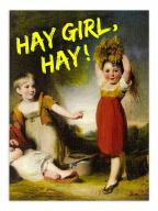 Čestitka - Hay Girl,Hay
