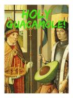Čestitka - Holy Guacamole