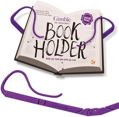 Držač za knjigu Gimble Positively Purple
