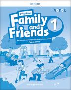 FAMILY AND FRIENDS 1 - ENGLESKI JEZIK, RADNA SVESKA ZA 3. RAZRED OSNOVNE ŠKOLE