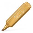 Faber-Castell flomaster textliner - metalic gold