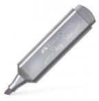 Faber-Castell flomaster textliner 46 metalic silver