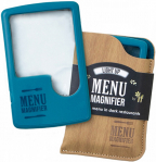 Lupa Light Up Menu Magnifier Aqua