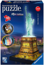 Ravensburger 3D puzzle - Statua Slobode, noćno izdanje