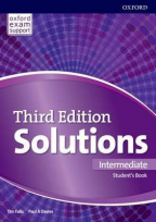 Solutions 3e Intermediate - engleski jezik udžbenik za 2. I 3. godinu srednjih škola