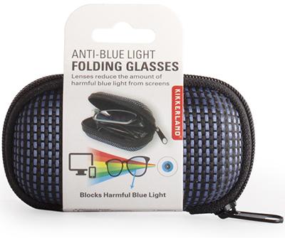 Anti-Blue Light Folding Glasses