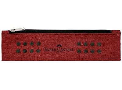 Faber Castell pernica Grip marsala red