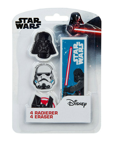 Gumice set/4 - Star Wars
