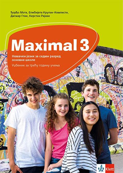 MAXIMAL 3 - NEMAČKI JEZIK, UDŽBENIK ZA 7. RAZRED OSNOVNE ŠKOLE
