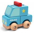 Pino Mini 3D puzzle Policija