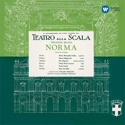 BELLINI: NORMA (1954 MONO) - MARIA CALLAS REMASTERED 3CD
