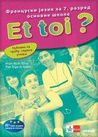 Et toi 3 - francuski jezik, udžbenik za 7. razred osnovne škole