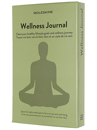 Moleskine Passion, Wellness Journal, Large, Boxed/Hard Cover
