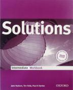 Solutions, Intermediate, engleski jezik, radna sveska za 2. I 3. godinu srednje škole