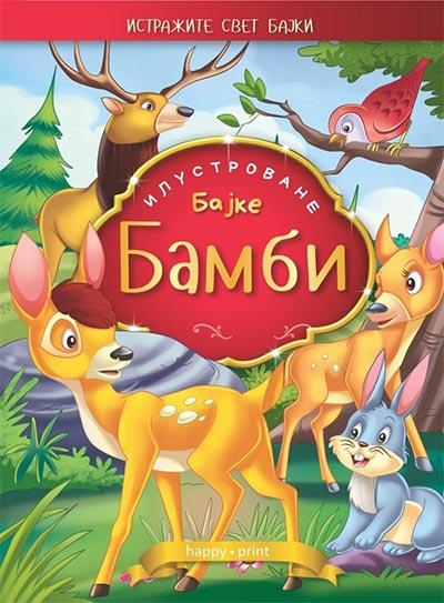 Bambi - ilustrovane bajke