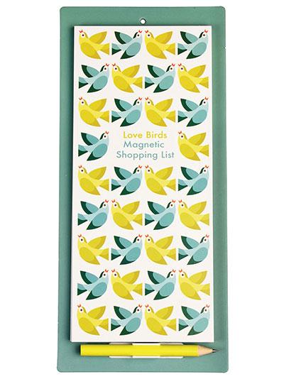 Blok sa magnetom - Love Birds