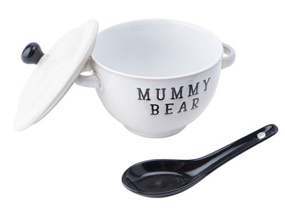 Činija sa kašikom - Loft Mummy Bear