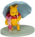 Figura - Disney, Pooh & Piglet Umbrella