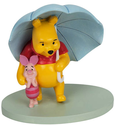 Figura - Disney, Pooh & Piglet Umbrella
