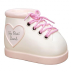 Kasica - Celebrations, Baby Boot Pink