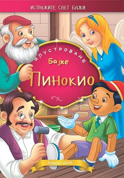Pinokio - ilustrovane bajke