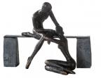 Skulptura - Comfort bronze