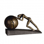 Skulptura - Heavy Ball, bronze